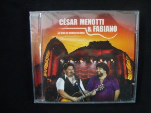 CD César Menotti & Fabiano - Ao vivo no Morro da Urca