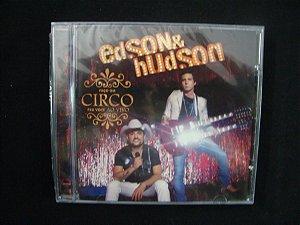 CD Edson & Hudson - Faço um Circo pra você  - Ao vivo