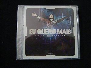 CD David M. Quinlan - Eu quero mais