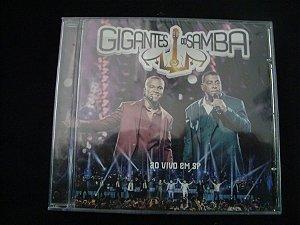CD Gigantes do Samba - Ao vivo em SP