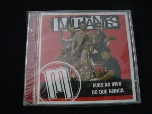 CD Mutantes - Mais ao vivo do que nunca
