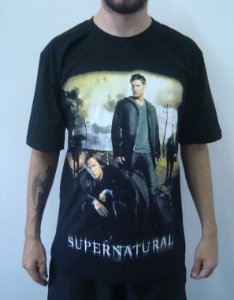 Camiseta Promocional - Supernatural