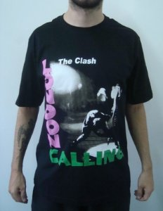 Camiseta Promocional - The Clash - London Calling