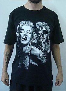 Camiseta Promocional - Marilyn Monroe Tattoo