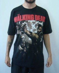 Camiseta Promocional - The Walking Dead