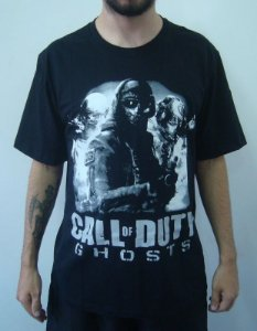 Camiseta Promocional - Call of Duty - Ghosts
