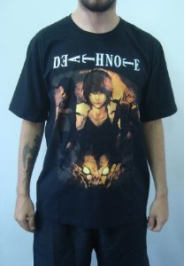 Camiseta Promocional Death Note
