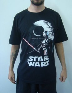 Camiseta Promocional - Star Wars - Darth Vader
