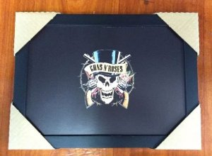 Quadro Guns and Roses - Skull