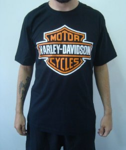 Camiseta Promocional - Harley Davidson Motorcycles