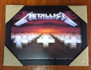 Quadro - Metallica - Master of Puppets