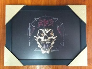 Quadro - Slayer - Skull