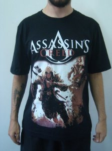 Camiseta Promocional - Assassin's Creed