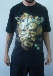 Camiseta Promocional - Breaking Bad