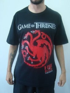 Camiseta Promocional - Game of Thrones - Targaryen