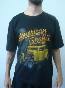 Camiseta Promocional - Hot Rod - American Graffiti