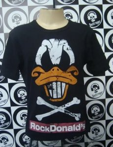 Camiseta Rock Donald's