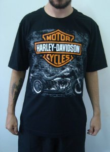Camiseta - Harley Davidson - Fat Boy
