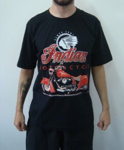 Camiseta Promocional - Indian Motorcycles