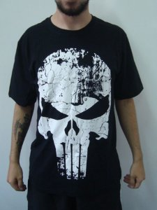 Camiseta Promocional - Justiceiro - Punisher