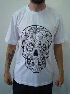 Camiseta Promocional - Caveira Mexicana