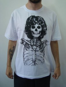Camiseta Promocional - Jim Morrison Skull