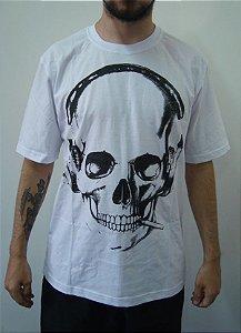 Camiseta Promocional - Caveira de Headfone