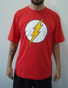 Camiseta Promocional - The Flash