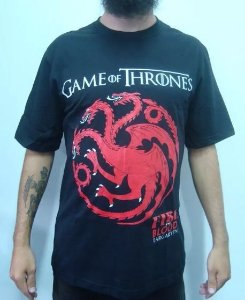 Camiseta Game of Thrones - Targaryen