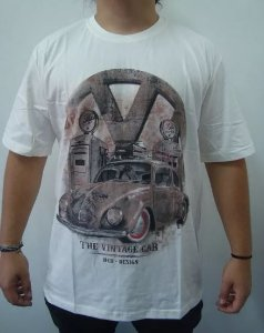 Camiseta Fusca - The Vintage Car