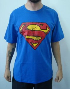 Camiseta Promocional - Superman