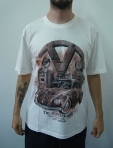 Camiseta Promocional - Fusca - The Vintage Car