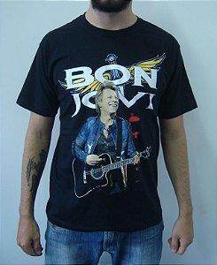 Camiseta Bon Jovi - Jon Bon Jovi