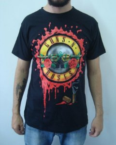 Camiseta Guns and Roses - Blood