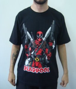 Camiseta Promocional - Deadpool