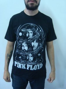 Camiseta Pink Floyd - Space