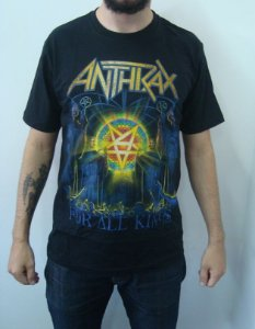 Camiseta Anthrax - For All Kings