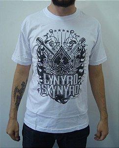 Camiseta Lynyrd Skynyrd - Branca
