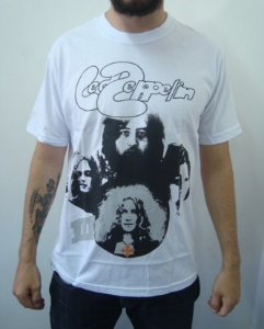 Camiseta Led Zeppelin 3