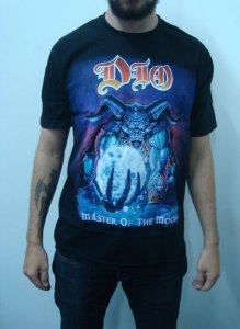 Camiseta Dio - Master of the Moon