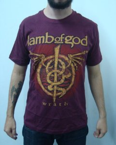 Camiseta Lamb of God - Wrath