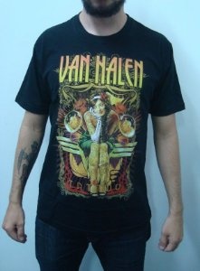 Camiseta Van Halen - Tattoo