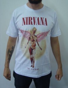 Camiseta Nirvana - In Utero