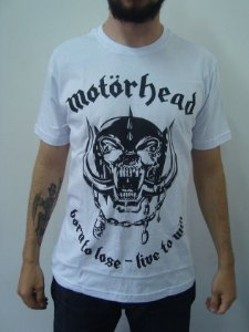 Camiseta Motorhead - Born To Lose - Live to Win