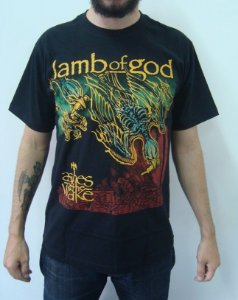 Camiseta Lamb of God - Ashes of The Wake