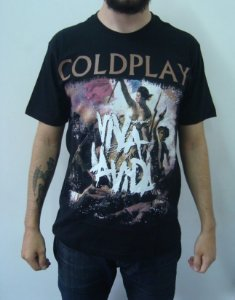 Camiseta Coldplay - Viva La Vida