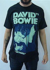 Camiseta David Bowie - Heroes