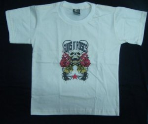 Camiseta Infantil - Guns and Roses