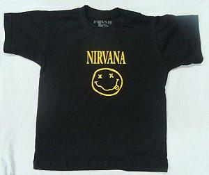 Camiseta Infantil - Nirvana