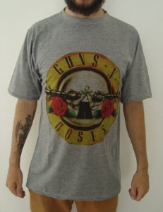 Camiseta Guns And Roses Sublimada
